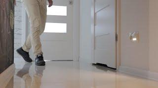Proste oświetlenie podłogi w korytarzu Kontakt-Simon 54