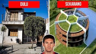 10 Rumah Pemain Bola Sebelum & Sesudah TERKENAL! Liat Bedanya...