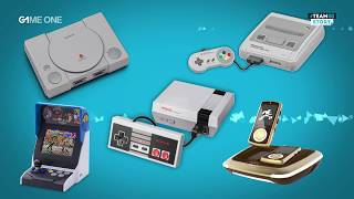 #TEAMG1 Story - Rétro-gaming et consoles mini