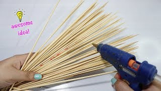 Brilliant Skewers idea that can be turned into home decor