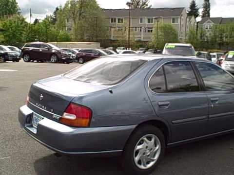 1999 Nissan Altima Gxe Ron Tonkin Pre Owned Youtube