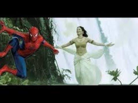 Bahubali Spoof: Spider man Animation (Dheevara Song Spoof Animation)