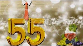 Слайд-шоу поздравление папы на Юбилей 55 лет от семьи!