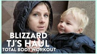 VLOG #5 | Trader Joe's Haul, Patriots Parade + Full Body Workout
