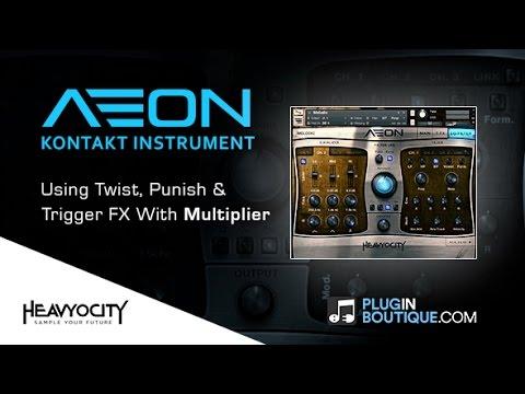 AEON Melodic Kontakt Instrument - Using Punish, Twist & Trigger Features