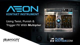 AEON Melodic Kontakt Instrument - Using Punish Twist Trigger Features
