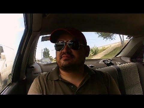 -Pasar la frontera entre Mexico y Estados Unidos- Hablando con un taxista