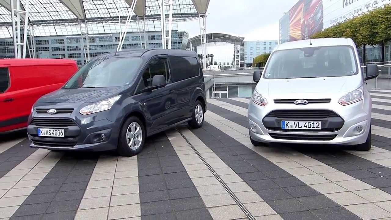 Toma De Contacto Con La Nueva Ford Transit Connect 140203 Youtube