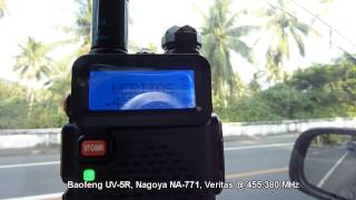 Baofeng Uv 5r Nagoya Na 771 Radio Veritas Legazpi Youtube