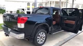 ឡានមួយទឹកថ្មីេចស | Toyota Tundra 2011 platinum | Used Car | Car Shopping