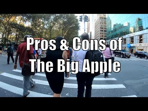 Is NYC a Bad Place to Live?: Pros & Cons from a Native New Yorker (While Walking 6th Avenue)