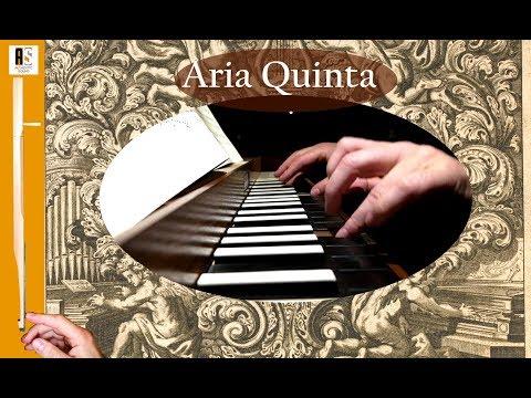 J.Pachelbel: Aria Quinta- Hexachordum Apollinis: Wim Winters, clavichord
