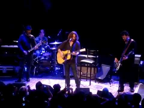 Soundgarden Chris Cornell NYC - 11-12 Fell On Black Days  Bowery Ballroom