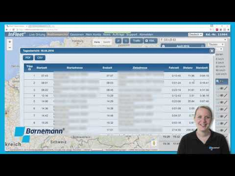 GPS Fahrzeugortung mit Infleet - Archive & Berichte | Bornemann AG from YouTube · Duration:  3 minutes 8 seconds