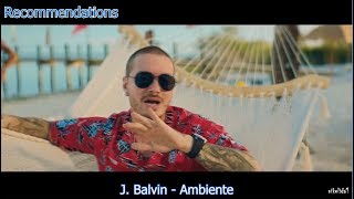 TOP 10 LATIN SONGS  (APRIL 21, 2018)