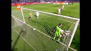Bursaspor 0-4 Fenerbahçe 2012 Ziraat Türkiye Kupası Fenerbahçe'nin
