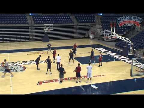 All Access Basketball Practice with Mark Few  - Clip 2