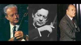 Schubert Piano Trio n.2 in E Flat - Andante con moto (Fournier, Grumiaux, Magaloff)