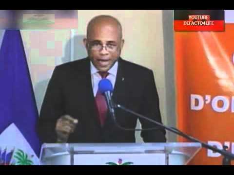 President Martelly Hurricane Advisory