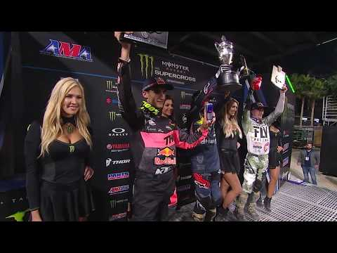 Supercross 450 Main Event San Diego Round 6 2018