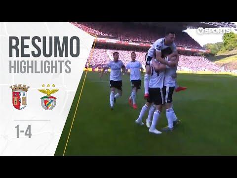 Highlights | Resumo: Sp. Braga 1-4 Benfica (Liga 18/19 #31)