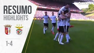 Highlights   Resumo: Sp. Braga 1-4 Benfica (Liga 18/19 #31)