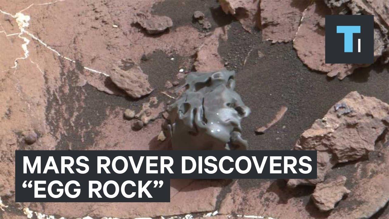 On Mars, Opportunity Rover Spots Weird Rocks Near Marathon