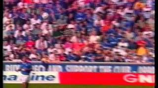 Rangers 4 v 1 Dundee Utd Aug 21st 1999