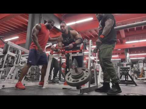 Blasting Arms at Iron Addicts Gym Miami | Mike Rashid
