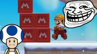 Super Mario Maker 2 Versus Multiplayer Troll