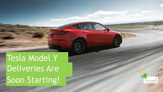 tesla Model Y Deliveries Are Soon Starting In North America!