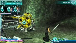 Final Fantasy Crisis Core gameplay