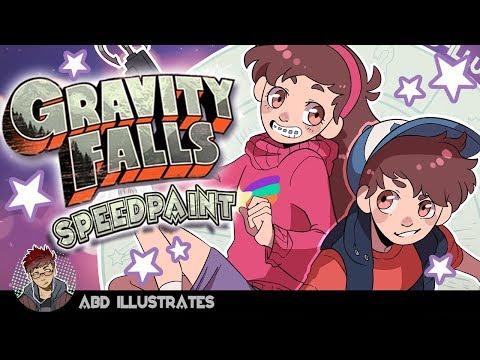SPEEDPAINT - GRAVITY FALLS //...