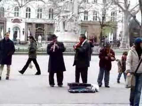 Roma Street Performers, Budapest, Hungary