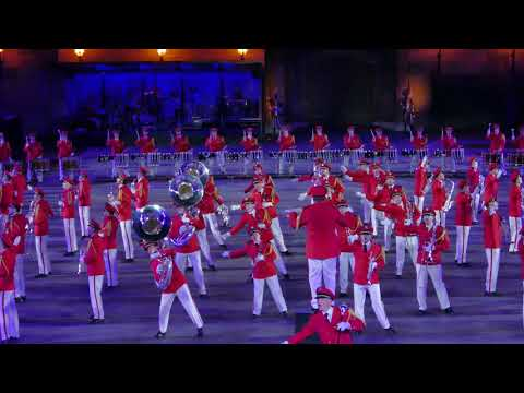 Basel Tattoo 2018  Swiss Army Central Band, Schweiz  P1760310