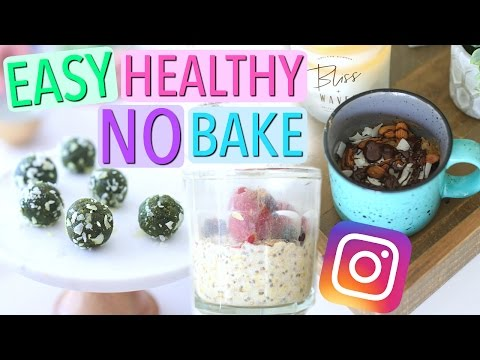 Testing Easy NO BAKE Instagram Foods!