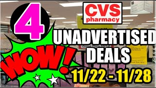 CVS UNADVERTISED DEALS 11/22 - 11/28 | UPDATES--FREE CEREAL & RAZORS!!!!