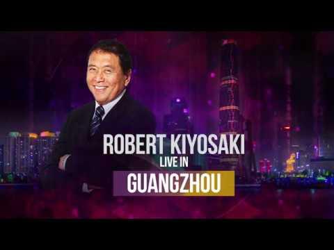 Robert Kiyosaki LIVE in Guangzhou Oct 18/19th 2019