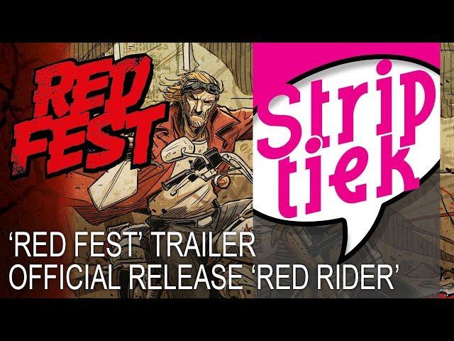 Aankondiging 'Red Fest'