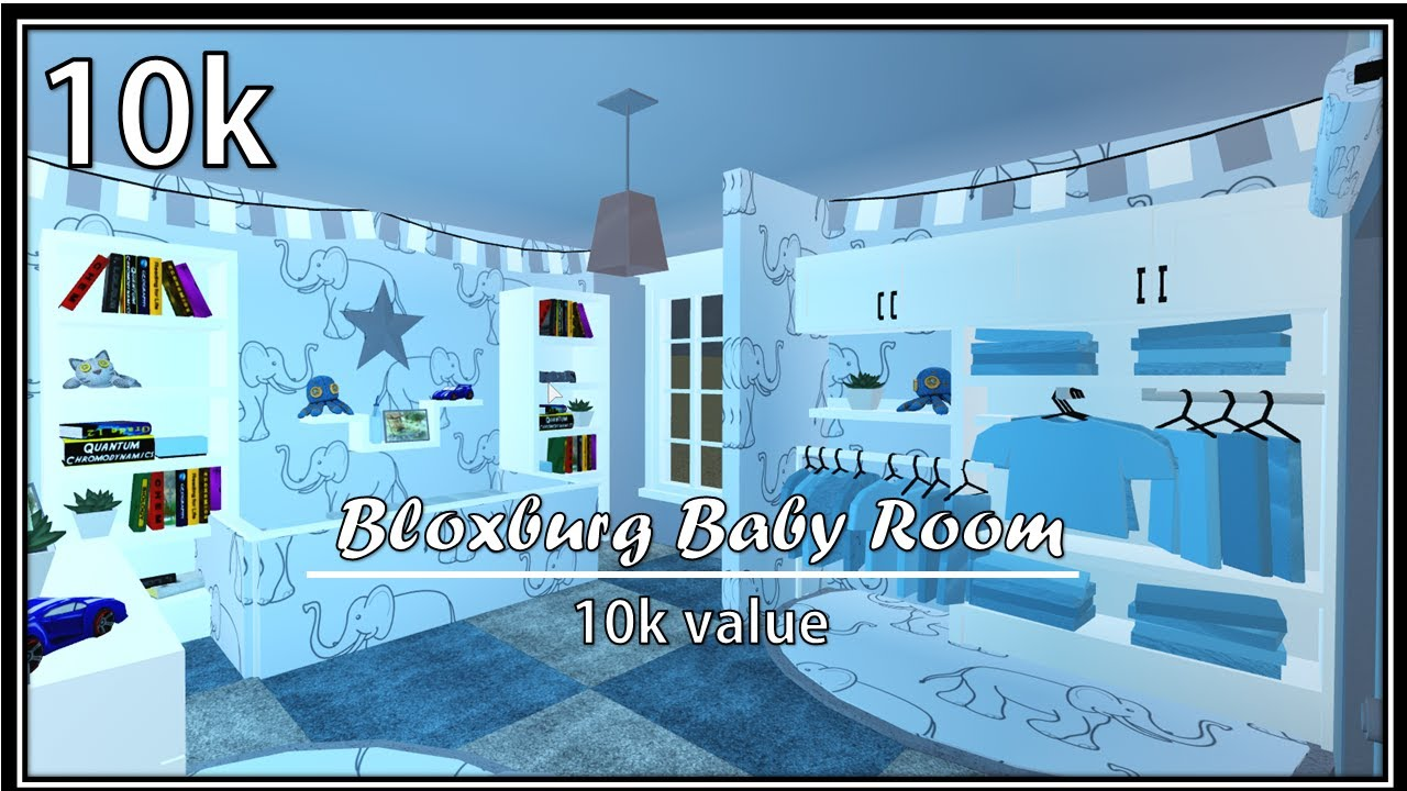 Bloxburg Baby Room!|SPEEDBUILD - YouTube