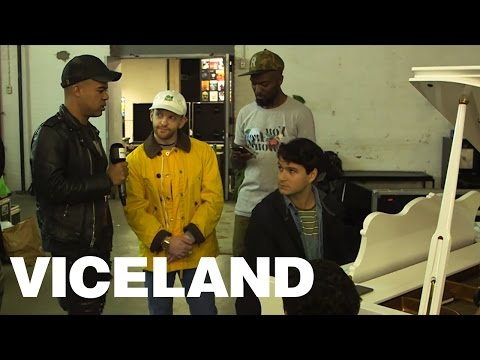 Writing A New Song On The Spot with Ezra Koenig and iLoveMakonnen (Live on VICELAND)