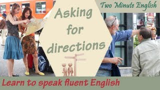 Asking for directions - Learn to speak English