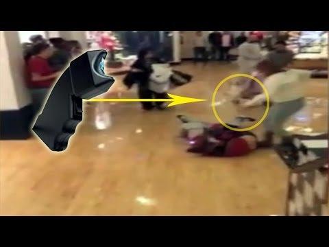 Black Friday 2013 fight Stun gun used in black Friday mall - Brawl & Madness Franklin Mill Mall