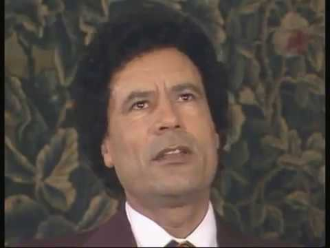 Muammar Gaddafi interview in 1982 part 1