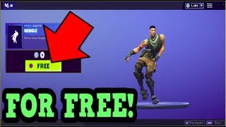 HOW TO GET WIGGLE EMOTE FOR FREE! (Fortnite Old Emotes)