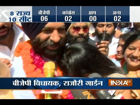By-Poll Results 2017: BJP wins in Delhi and Himachal Pradesh, Congress ahead in Karnataka