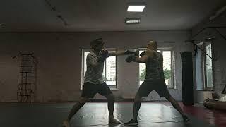Мое возвращение в спорт ( единоборства ) - тренировка 5 Бокс