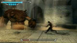 Prince of Persia The Forgotten Sands PSP Palace Doors Boss Fight