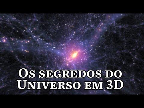 Os segredos do Universo em 3D