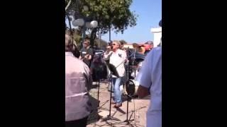 Rod Stewart at Marina del Rey Fisherman